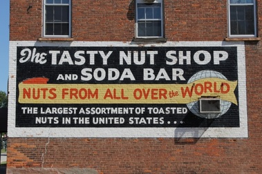 Tasty Nut Shop Sign